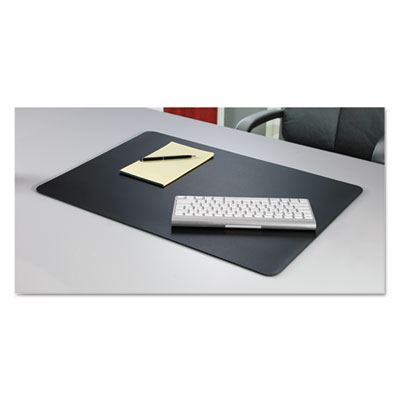 Rhinolin ii desk pad with microban, 17 x 12, black, sold as 1 each