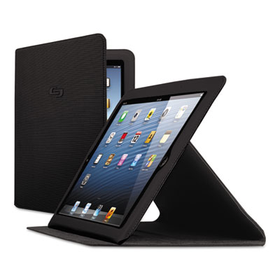 Network slim case for ipad air, black, sold as 1 each