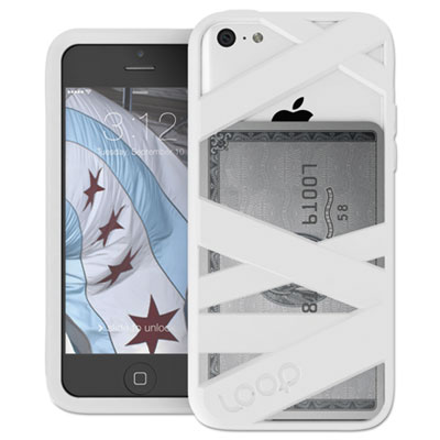 Mummy case for iphone 5c, white, sold as 1 each