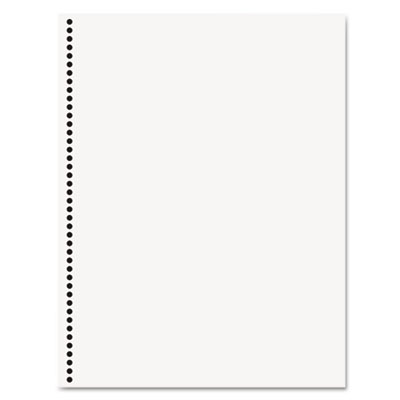 Office paper, gbc 44-hole punched, 8 1/2 x 11, 20-lb, 500/ream, sold as 1 ream