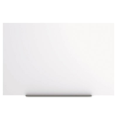 Magnetic dry erase tile board, 29 1/2 x 45, white surface, sold as 1 each