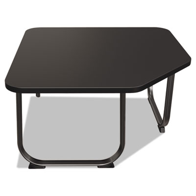 Oui reception and lobby tables, corner table, 31w x 31d x 19h, black, sold as 1 each