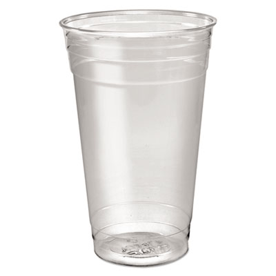 Ultra clear pete cold cups, 24 oz, clear, 50/sleeve, 12 sleeves/carton, sold as 1 carton, 600 each per carton