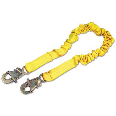 Shockwave2 shock-absorbing lanyard, 900 lb arresting force, sold as 1 each