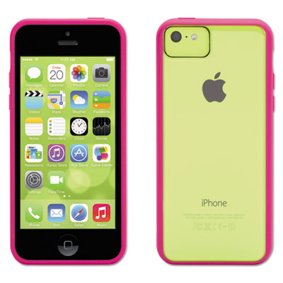 Reveal case for iphone 5c, pink, sold as 1 each