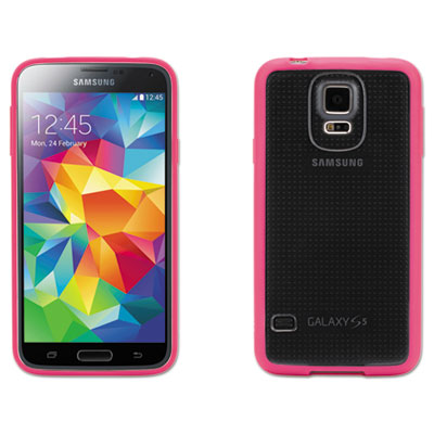 Reveal case for samsung galaxy s5, pink, sold as 1 each