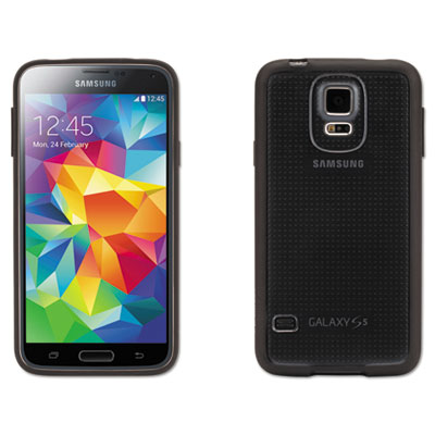 Reveal case for samsung galaxy s5, black/clear, sold as 1 each