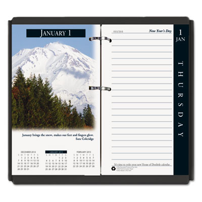 Earthscapes desk calendar refill, 31/2 x 6, 2016, sold as 1 each