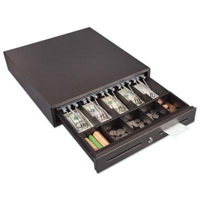 Hercules cash drawer, two keys, 16 1/2 x 17 1/2, charcoal gray, sold as 1 each