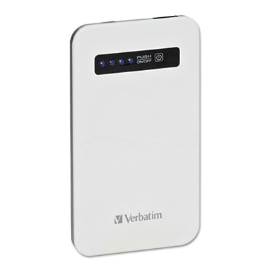 Ultra slim power pack chargers, 4200mah, white, sold as 1 each