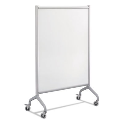 Rumba full panel whiteboard collaboration screen, 42 x 54, white/gray, sold as 1 each