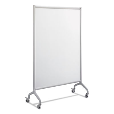 Rumba full panel whiteboard collaboration screen, 42 x 66, white/gray, sold as 1 each