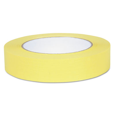 "Color masking tape, .94"" x 60 yds, yellow, sold as 1 roll"