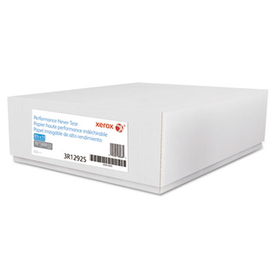 Revolution performance never tear paper, 10 mil, 8 1/2 x 11, white, 600 sheets, sold as 1 carton, 600 sheet per carton