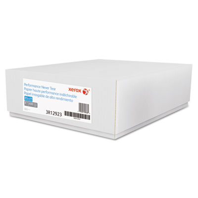 Revolution performance never tear paper, 8 mil, 8 1/2 x 11, white, 600 sheets/ct, sold as 1 carton, 600 sheet per carton