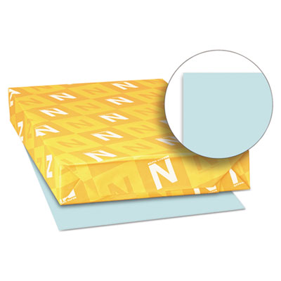 Exact vellum bristol cover stock, 67 lbs., 11 x 17, blue, 250 sheets, sold as 1 package