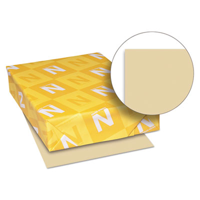 Exact vellum bristol cover stock, 67 lbs., 8-1/2 x 11, tan, 250 sheets, sold as 1 package