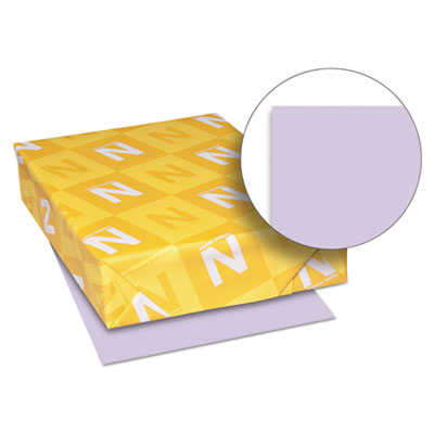 Exact vellum bristol cover stock, 67 lbs., 8-1/2 x 11, orchid, 250 sheets, sold as 1 package
