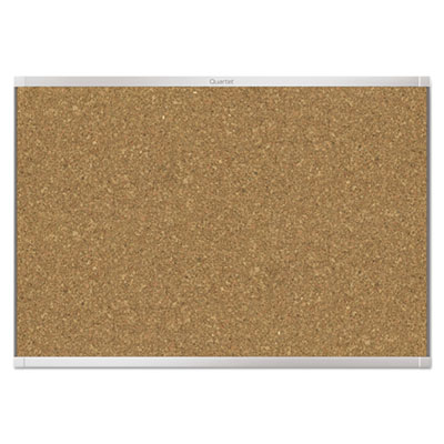 Prestige 2 magnetic cork bulletin board, 48 x 36, aluminum frame, sold as 1 each