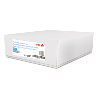 Revolution performance never tear paper, 5 mil, 8 1/2 x 11, white, 600 sheets/ct, sold as 1 carton, 600 sheet per carton