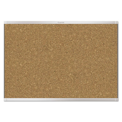 Prestige 2 magnetic cork bulletin board, 36 x 24, aluminum frame, sold as 1 each