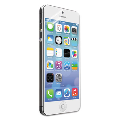 Visiscreen screen protector for apple iphone 5/5s, pet, clear, sold as 1 package