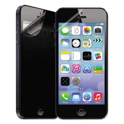 Privascreen privacy filter for smartphone--apple iphone 5/5s/5c, black, sold as 1 each