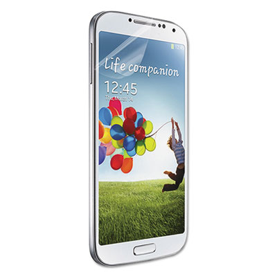 Visiscreen screen protector for samsung galaxy s4, pet, clear, sold as 1 package