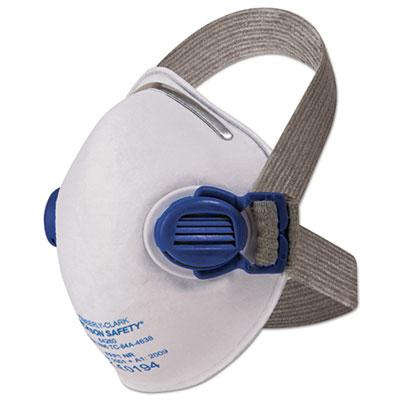 R10 particulate respirator, n95, white w/gray straps, 10/box, sold as 1 box, 10 each per box