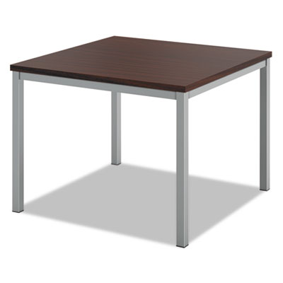Occasional corner table, 24w x 24d, chestnut, sold as 1 each