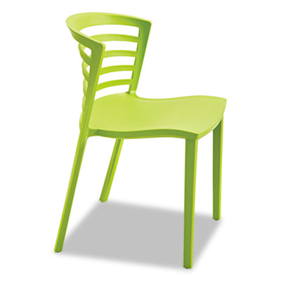 Entourage stack chair, grass, 4 per carton, sold as 1 carton, 4 each per carton