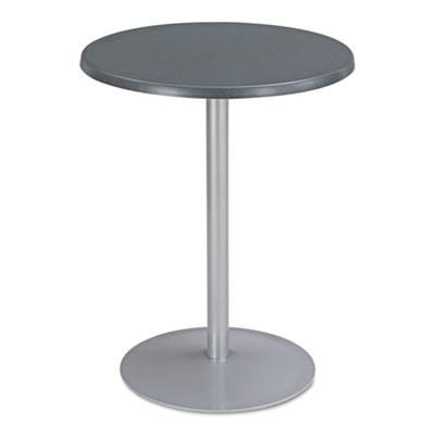"Entourage table top, round, 24"" diameter, anthracite, sold as 1 each"