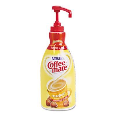 Liquid coffee creamer, hazelnut, 1.5 liter pump bottle, 2/carton, sold as 1 carton, 2 each per carton