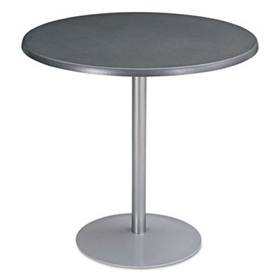 "Entourage table top, round, 32"" diameter, anthracite, sold as 1 each"