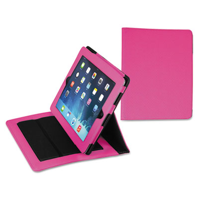 Fashion ipad case for ipad air, debossed pattern, pink, sold as 1 each