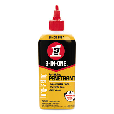 3-in-one professional high-performance penetrant, 4 oz bottle, 12/ct, sold as 1 carton, 12 each per carton