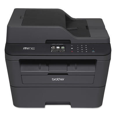 Mfc-l2740dw wireless laser all-in-one, copy/fax/print/scan, sold as 1 each