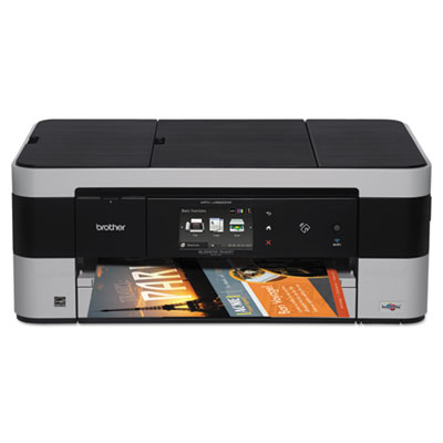 Business smart mfc-j4620dw multifunction inkjet printer, copy/fax/print/scan, sold as 1 each