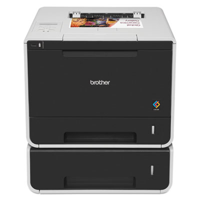 Hl-l8350cdwt color laser printer with wireless networking and dual paper trays, sold as 1 each
