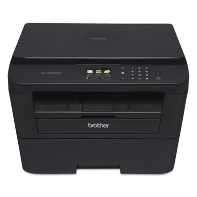 Hl-l2380dw wireless multifunction laser printer, copy/print/scan, sold as 1 each