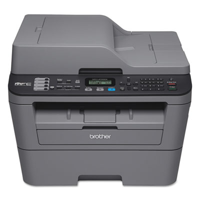 Mfc-l2700dw compact laser all-in-one, copy/fax/print/scan, sold as 1 each