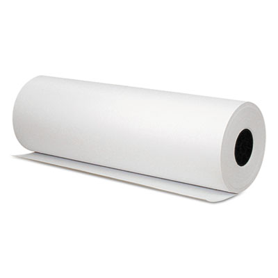 """Butcher paper, 1000 ft x 18"""", white, sold as 1 roll"""