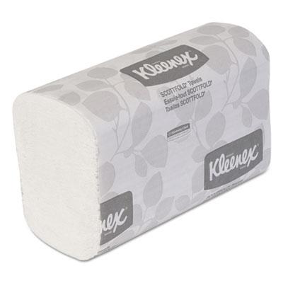 Scottfold paper towels, 7 4/5 x 12 2/5, white, 120/pack, 25 packs/carton, sold as 1 carton, 25 package per carton