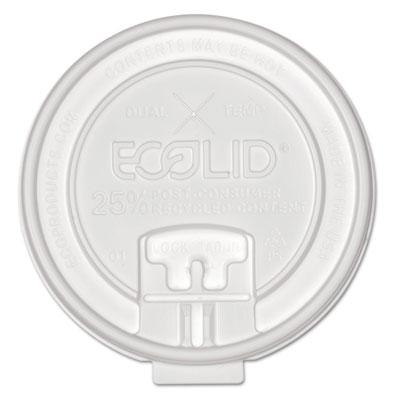 25% recy content dual-temp lock tab lid w/straw slot, 10-20oz , 50/pk, 12 pk/ct, sold as 1 carton, 600 each per carton