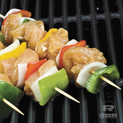 "Bamboo skewers, 6"", natural, 100/pack, sold as 1 carton, 19200 each per carton"