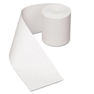 "Heat sensitive register rolls, 3 1/8"" x 200 ft, 1 ply, white, 30 rolls/carton, sold as 1 carton, 30 each per carton"