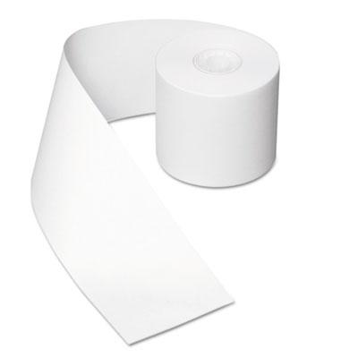 Register roll, 44 mm x 130 ft, white bond, 1 ply, 50/carton, sold as 1 carton, 50 each per carton