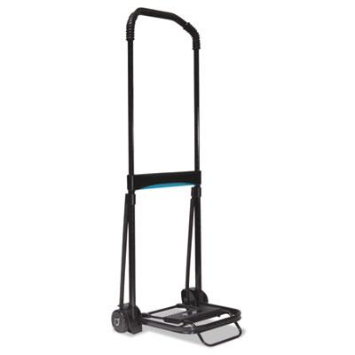 Ultra-lite folding cart, 150lb capacity, 9 3/4 x 11 platform, black, sold as 1 each
