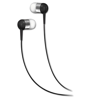 Seb in-ear buds, black, sold as 1 each