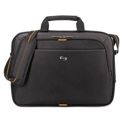 "Urban slim brief, 15.6"", 16 3/4 x 1 3/4 x 11 3/4, black, sold as 1 each"